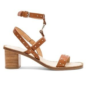 NWB Joie Brown Medalca Sandal In Tan REVOLVE 37.5